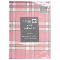 Le Chateau Yarn Dyed Woven Pink Table Cloths
