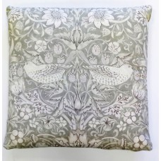 William Morris Neutral Strawberry Thief Cushions