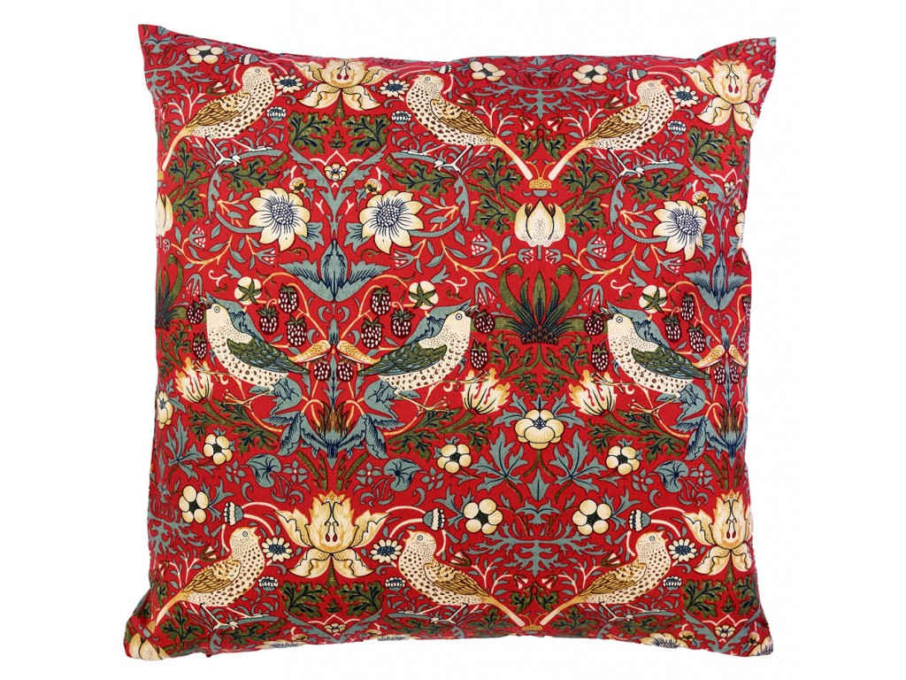 William Morris Strawberry Thief Curtains William Morris