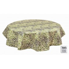 William Morris Gallery Willow Bough Green PVC Oil Table Cloths