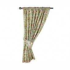William Morris Gallery Golden Lily Lined Curtain Pairs