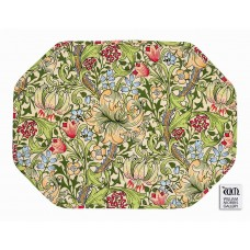 William Morris Gallery Golden Lily Quilted Placemats