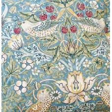William Morris Slate Strawberry Thief PVC Table Cloths