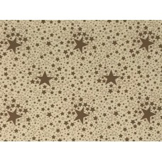 Le Chateau Oil Cloth Table Linen Per Metre Stars Silver