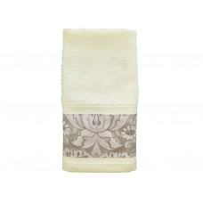 William Morris Neutral Strawberry Thief Trimmed Towels