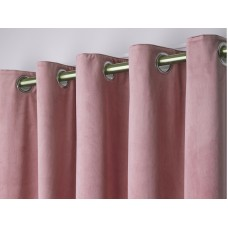 Laurence Llewelyn-Bowen New Montrose Blush Curtains and Cushion