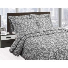 Elainer Scroll Grey Bedspreads and Pillowsham