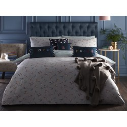 Oasis New Hummingbird Grey Duvet Cover Sets and Coordinates