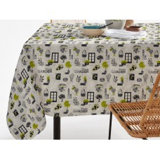 Elainer Water Repellent Garden Grey Table Cloths & Napkins