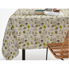 Elainer Water Repellent Garden Natural Table Cloths & Napkins