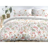 Dreams n Drapes Aimee Coral Duvet Cover Sets