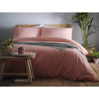 Appletree Signature Cassia Dark Coral Duvet Cover Sets