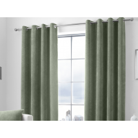 Curtina Kilbride Cord Kahki Eyelet Curtains and Cushions