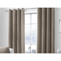 Curtina Kilbride Cord Linen Eyelet Curtains and Cushions