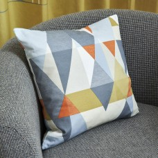 Scion Axis Tangerine Filled Cushion