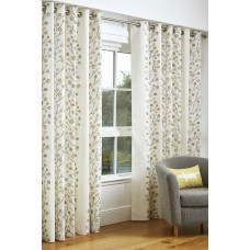 Scion Berry Tree Natural Eyelet Curtain Pairs