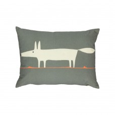 Scion Mr Fox Dark Grey Filled Cushion