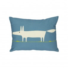 Scion Mr Fox Marine Filled Cushion