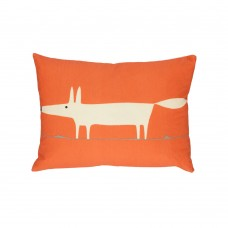Scion Mr Fox Orange Filled Cushion