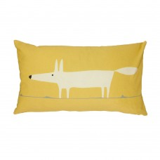 Scion Mr Fox Ochre Mix Filled Cushion