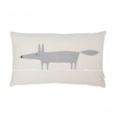 Scion Mr Fox Parchment Mix Filled Cushion