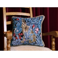 William Morris New Tapestry The Hare Cushions