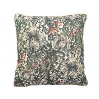 William Morris New Tapestry Golden Lily Cushions