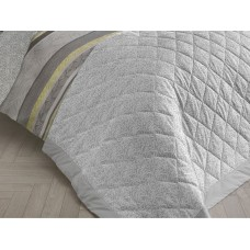 Dreams n Drapes Hanworth Grey Bedspread