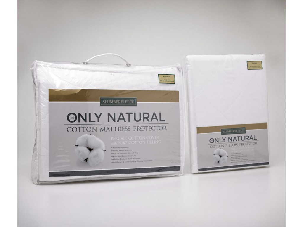 Slumberfleece All Cotton Mattress & Pillow Protectors