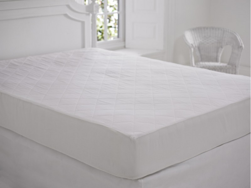 Slumberfleece Extra Deep Quilted Cotton Mattress Protectors