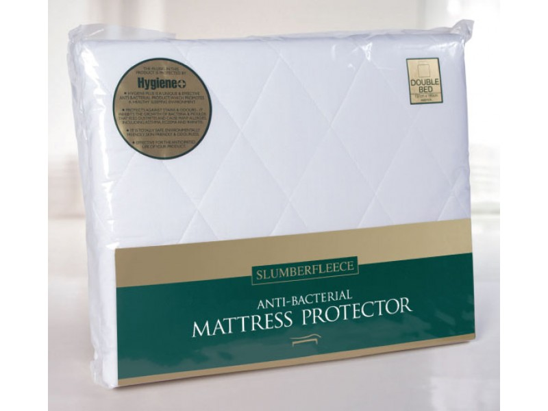 Slumberfleece PolyCotton Anti-Bacterial Mattress & Pillow Protectors
