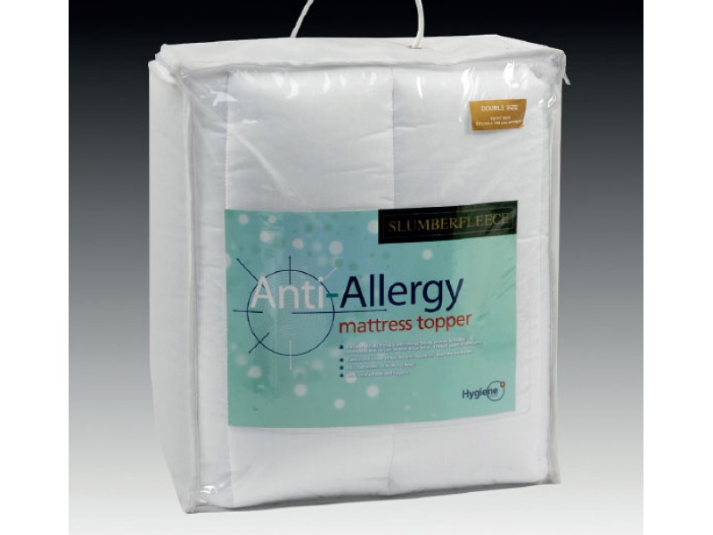 Slumberfleece Anti-Allergy Quilted Mattress Toppers