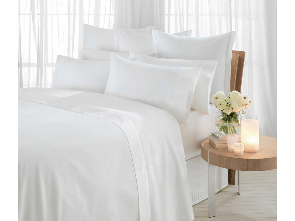 Sheridan 1000 Thread Count Sateen Snow White Duvet Covers