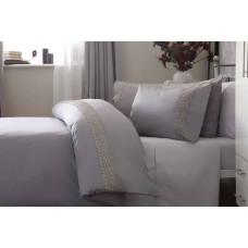Belledorm Aria Grey Duvet Cover Sets