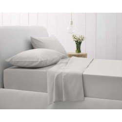 Sheridan Sale 500 Thread Count Cotton Sateen Silver Bedlinen