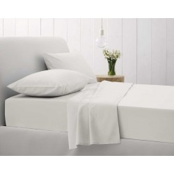 Sheridan Sale 500 Thread Count Cotton Sateen Snow White Bedlinen