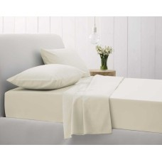 Sheridan Sale 500 Thread Count Cotton Sateen Chalk Fitted Sheets