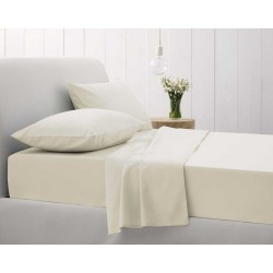 Sheridan Sale 500 Thread Count Cotton Sateen Chalk Bedlinen