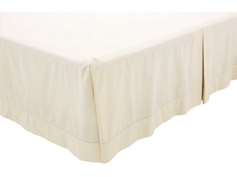 Sheridan 1000 Thread Count Sateen Chalk Platform Valance