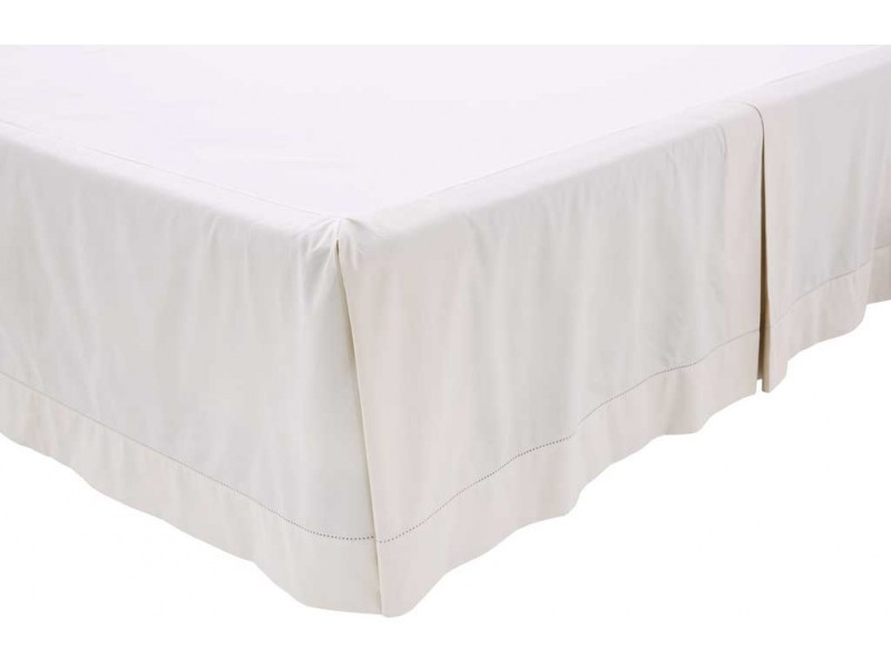 Sheridan 1000 Thread Count Sateen Snow White Platform Valance