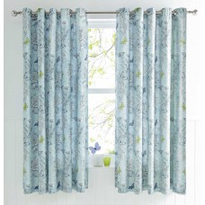 Dreams n Drapes Aviana Duck Egg Thermal Lined Curtains