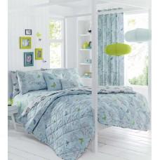Dreams n Drapes Aviana Duck Egg Bedspread