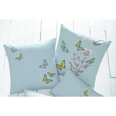 Dreams n Drapes Aviana Duck Egg Square Cushions