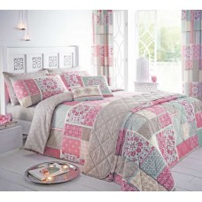 Dreams n Drapes Shantar Pink Bedspread