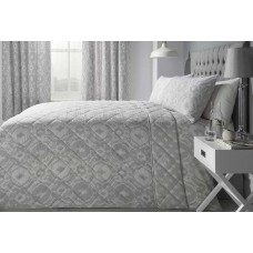 Dreams n Drapes Alford Silver Bedspread