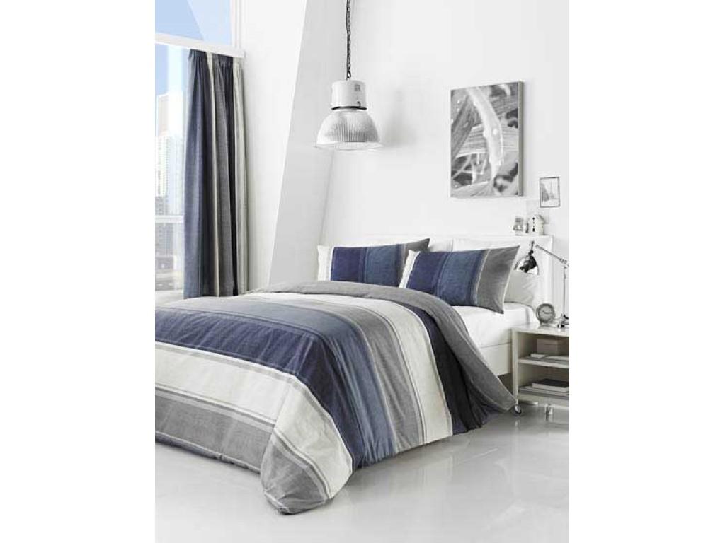 Fusion Betley Blue Duvet Cover Sets