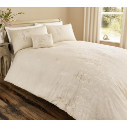 Serene Claudia Natural Duvet Cover Sets and Coordinates