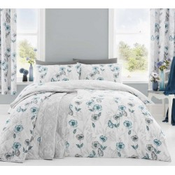 Dreams n Drapes Fliss Duck Egg Duvet Cover Sets and Coordinates