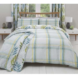 Dreams n Drapes Kew Teal Duvet Cover Sets and Coordinates