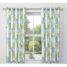 Dreams n Drapes Kew Teal Lined Pencil Pleat Curtains